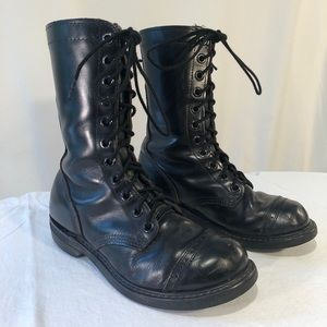 Carolina USA leather jump boots. Sz 6